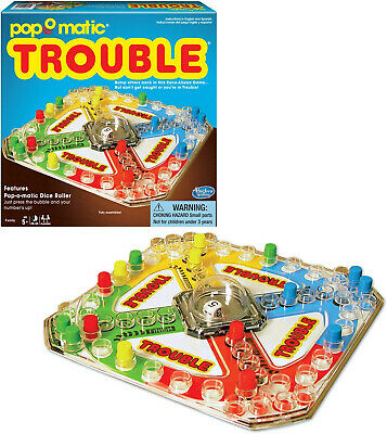 Winning Moves Games Classic Trouble Board Game