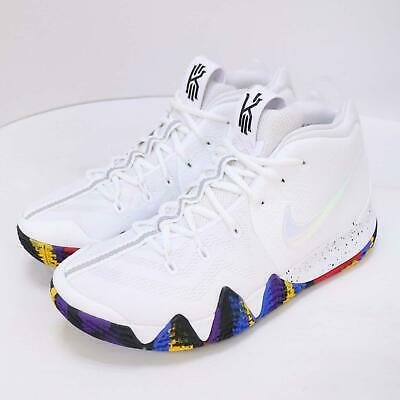 719aa2de9d58 Nike Kyrie 4 EP IV Irving Left Foot With Defect White Men Shoes 943807-104