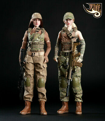 1/6 Fire Girl Toys Accessory FG003 or FG004 Female Tactical Shooter Uniform Set