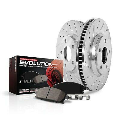 Power Stop Z23-906A Front Z23 Evolution Sport Brake Kit for Tacoma//Sienna//Solara