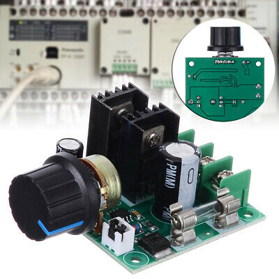 PWM DC12V-40V Motor Speed Volt Control Switch Voltage Regulator Dimmer w/ Knob