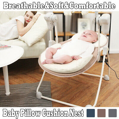 Baby Infant Breathable Pillow Cushion Nest Prevent Flat Head Anti Roll Support