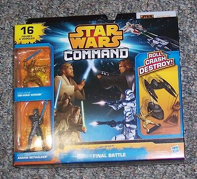 Star Wars Rebels Command Invasion Packs bataille finale 16 Action Figures Boxed New