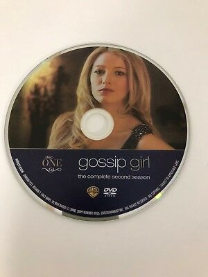 Gossip Girl - Season 2 - Disc 1 - DVD Disc Only - Replacement Disc