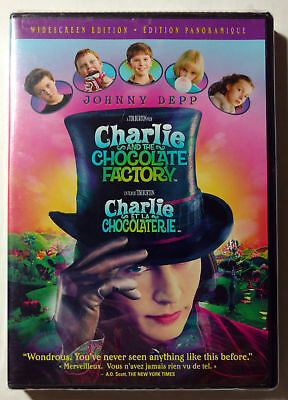 Charlie and the Chocolate Factory (DVD, 2005)