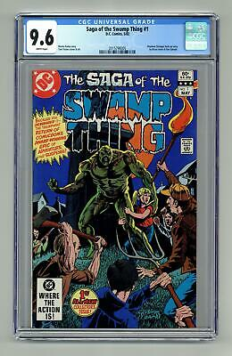 Swamp Thing (2nd Series) #1 1982 CGC 9.6 2015796005