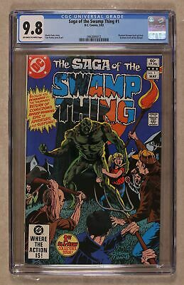 Swamp Thing (2nd Series) #1 1982 CGC 9.8 0962693012