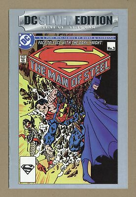 DC Silver Edition The Man of Steel #3 1993 FN 6.0