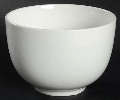 Gibson Designs WHITE ELEMENTS Soup Cereal Bowl 7761961