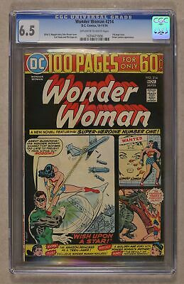 Wonder Woman (1st Series DC) #214 1974 CGC 6.5 1074471008