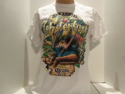 Corona Beer 20Th Annual Lobster Fest Promo T-Shirt(Med) Very Rare
