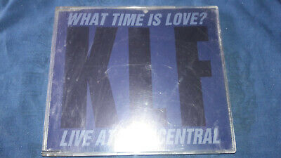 """THE KLF What Time Is Love Live At Trancentral Trance/Techno 3"""" Maxi CD 3 Trx GUT"""