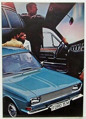 1967-1971 Ford Taunus 15M Sales Folder - French Text