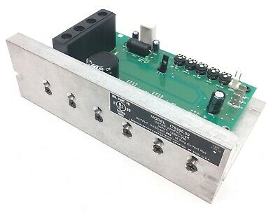 Leeson Electric 175290 Motor Controller, Input: 12/24VDC, Out: 0-12/0-24VDC, 16A