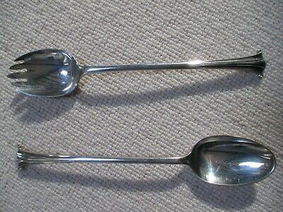 'Walker & Hall' Silver Plated Serving Spoon & Fork - 1920's?