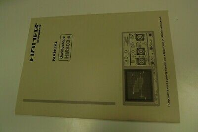 Hameg HM303 -6 Oscilloscope Instruction Manual Circuit Diagram