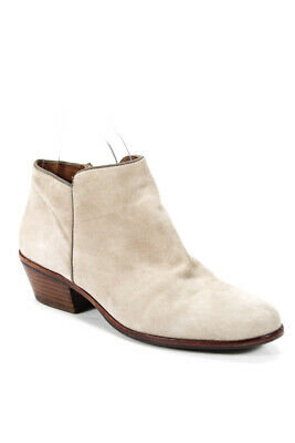 59f40ecff SAM EDELMAN WOMENS Ankle Booties Gray Suede Boots Size 5.5 -  24.01 ...
