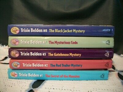 Trixie Belden Mysteries lot of 5 (Newer Glossy Series)