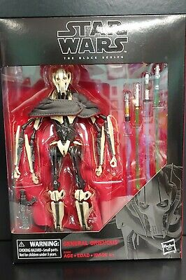"Star Wars The Black Series GENERAL GRIEVOUS 6"" Action Figure *NIB*IN STOCK MINT"