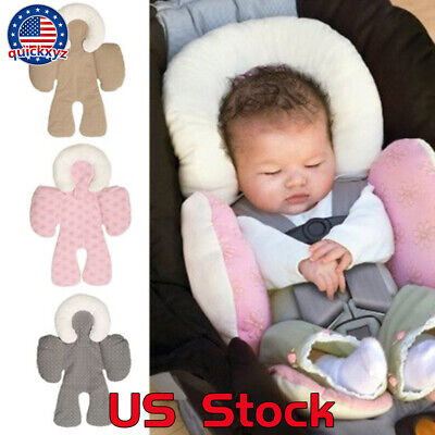 Newborn Baby Stroller Car Seat Pillow Cotton Cloth Cushion Protection Comfy US