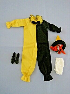 "Vintage Ken Doll ""Masquerade Clown Outfit""  #794  1960'S"