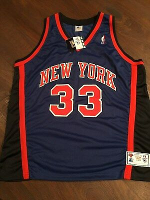 quality design db864 d9eb0 AUTHENTIC VINTAGE PATRICK Ewing Starter New York Knicks Jersey Size 52  Stitched