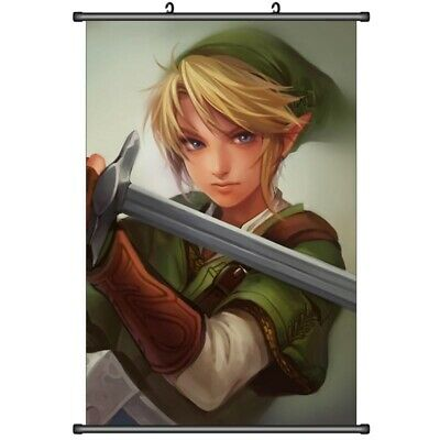Anime The Legend of Zelda Home Decor Wall Scroll Decorate Poster 50x70cm DF401