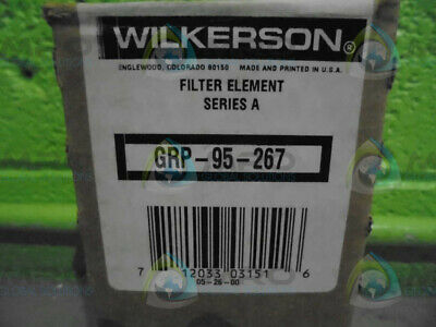 Wilkerson Grp-95-267 Filter Element (Lot Of 2) * New In Box *