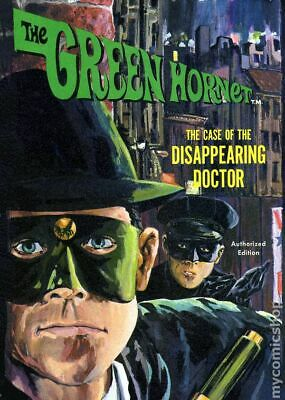 Green Hornet The Case of the Disappearing Doctor HC (Whitman) #1-1ST 1966 VG