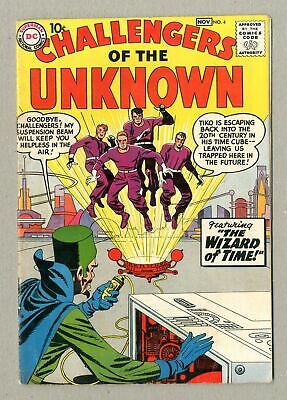 Challengers of the Unknown (DC 1st Series) #4 1958 VG 4.0