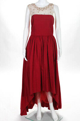 11940a39 MARCHESA NOTTE RED Precision Gown $1295 Size 14 10411169 - $114.27 ...