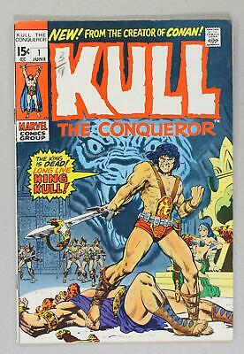 Kull the Conqueror (1st Series) #1 1971 VG+ 4.5