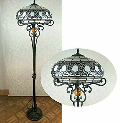 10 Inch Wide New Nice Tiffany Style Handcrafted Table Lamps Uk Plug