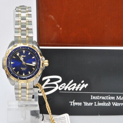 a51bbb7da88 Ladies Belair Seapearl Watch 2-Tone Stainless Steel Sapphire Crystal New In  Box