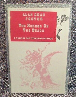 The Horror On The Beach~Alan Dean Foster (1978) ~527/1000~[H P Lovecraft] Sealed