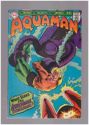 Aquaman # 36  What Seeks the Awesome Threesome ?  grade 9.0 scarce book !