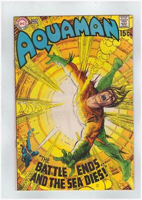 Aquaman # 49  The Battle Ends...and the Sea DIes !  grade 9.0 scarce book !