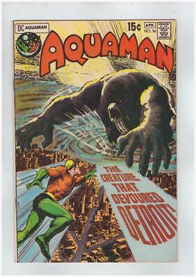 Aquaman # 56  The Creature that Devoured Detroit !  grade 9.0 scarce book !