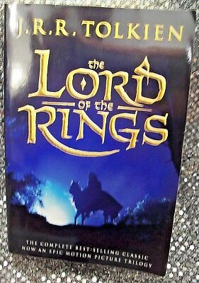 The Lord of the Rings by J. R. R. Tolkien ~ One Vol Ed. Movie tie-in (1994) VG+
