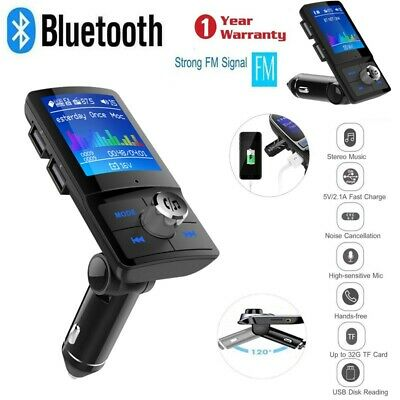 BC45 Bluetooth Car USB Charger FM Transmitter Wireless Radio Adapter MP3 Player