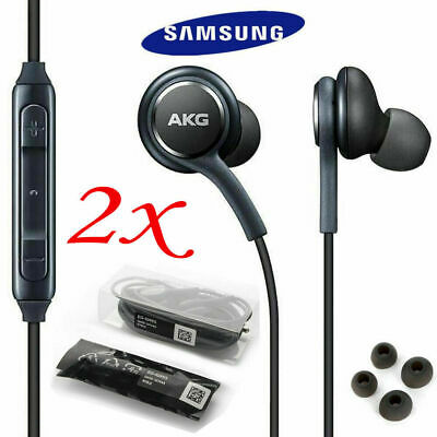 2X-OEM Samsung S9 S8+ Note 8 AKG Earphones Headphones Headset Ear Buds EO-IG955