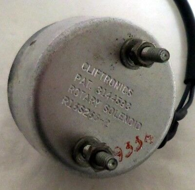 Cliftronics Model R16S263-2 Rotary Solenoid
