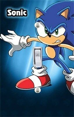 Sonic X Switchplate Cover