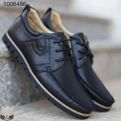men comfort high quality leather shoes Europe style outdoor driving classic shoe