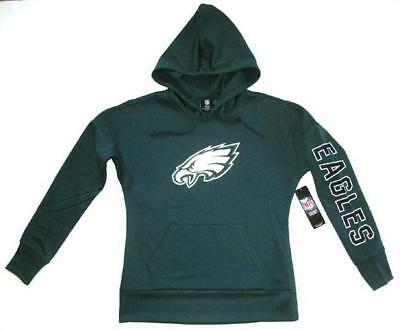e81586b50fc MAJESTIC PHILADELPHIA EAGLES Men's Evergreen Pullover Hoodie Large ...