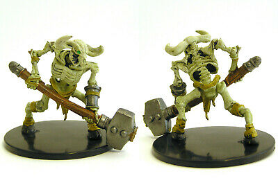 D&D Icons of the Realms - #032b Minotaur Skeleton (Warhammer) - Mad Mage