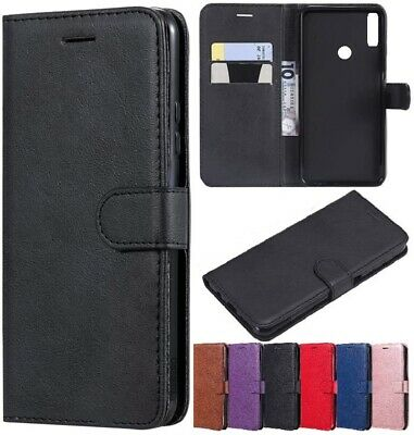 Case for Huawei Y5 Y6S Y6 Y7 2018 2019 Luxury Leather Flip Wallet Stand Cover