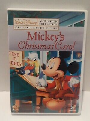 Mickeys Christmas Carol Dvd.Disney Animation Collection Volume 7 Mickeys Christmas Carol Dvd 2009