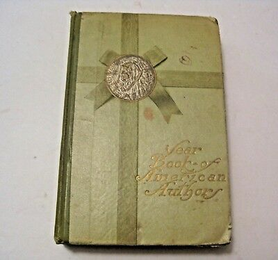 Antique 1894 Year Book Of American Authors Collectible Book