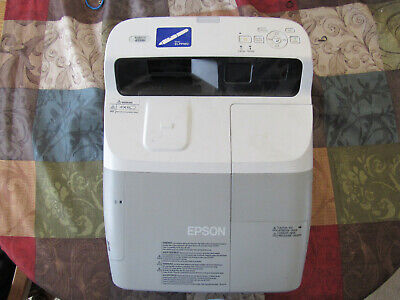 Epson BrightLink 450Wi LCD Projector 448 Hours ULTRA SHORT THROW!!